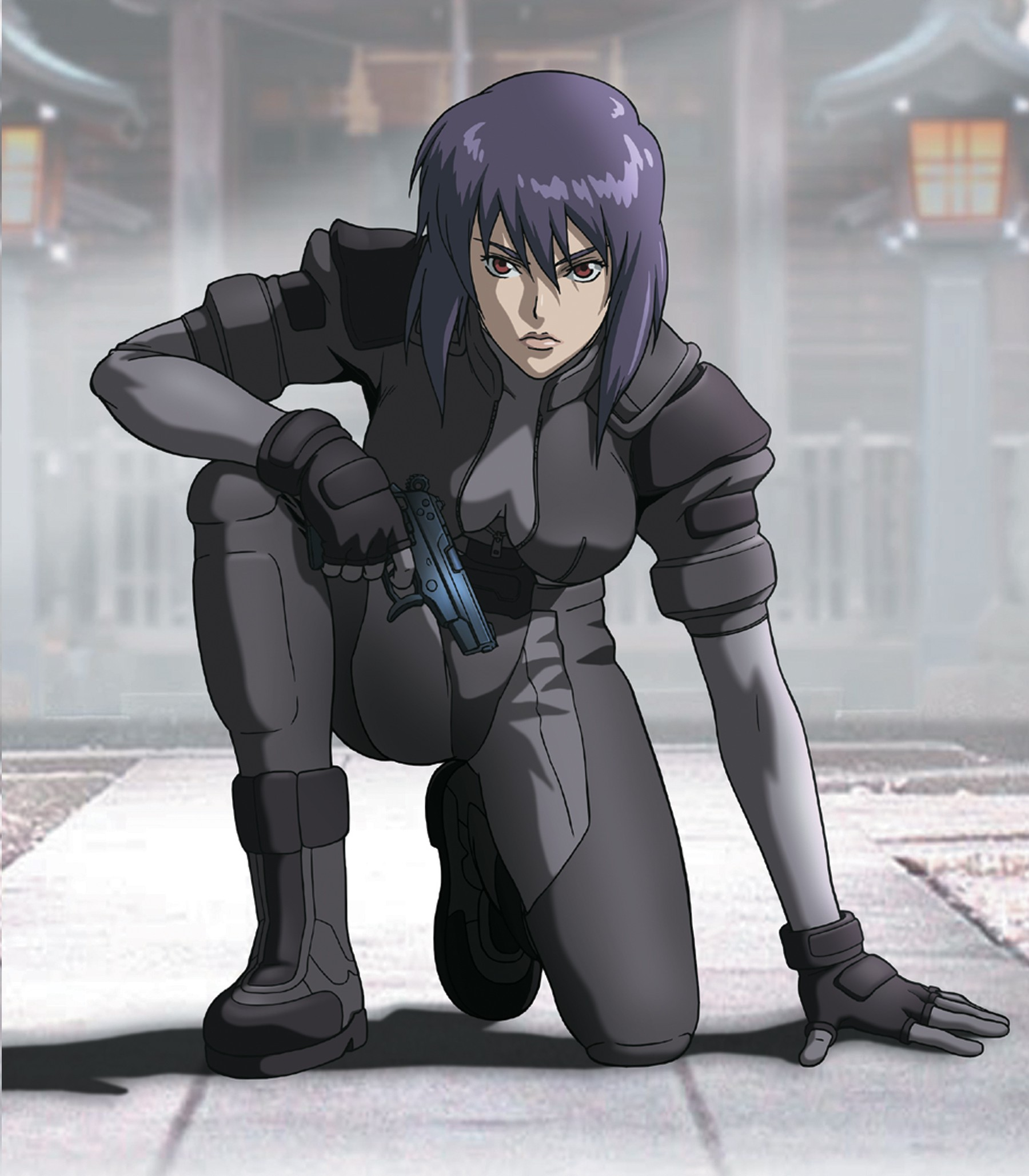 Motoko Kusanagi From Ghost In The Shell Stand Alone Complex Series