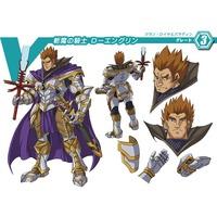Image of Demon Slaying Knight, Lohengrin