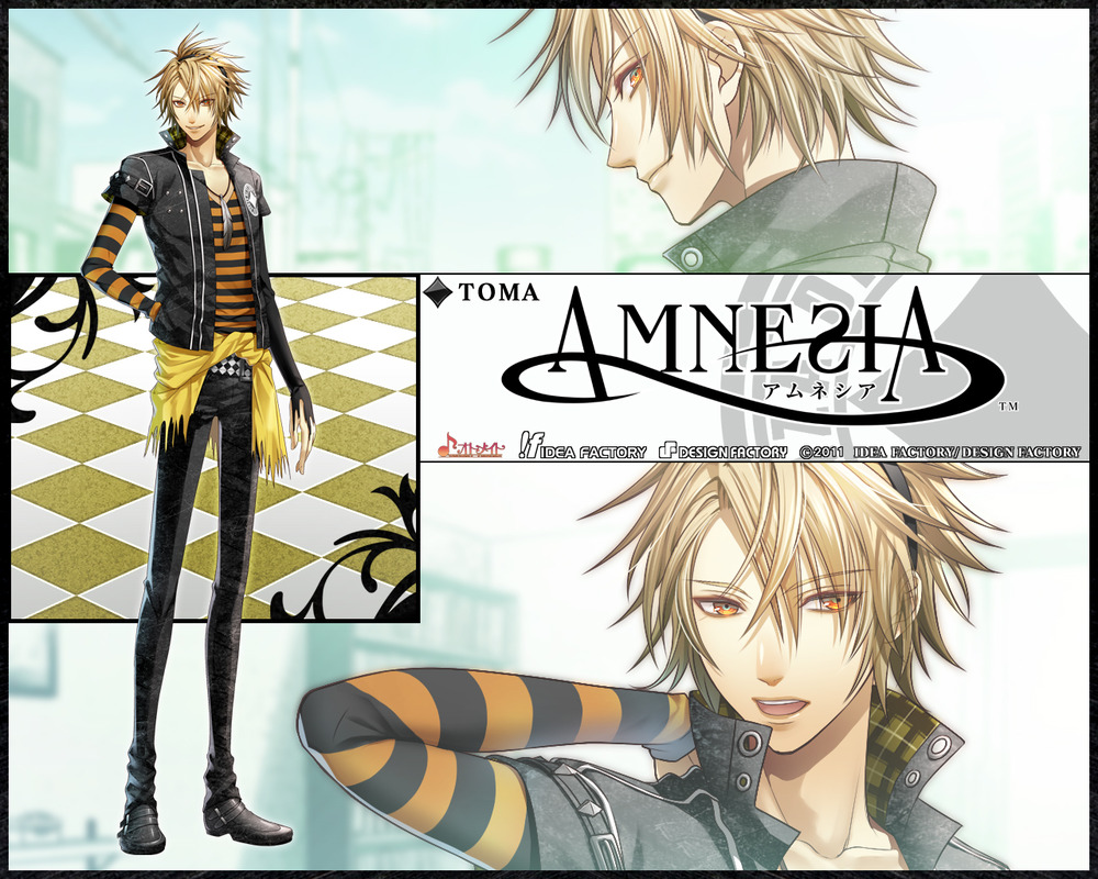Image result for انیمه Amnesia