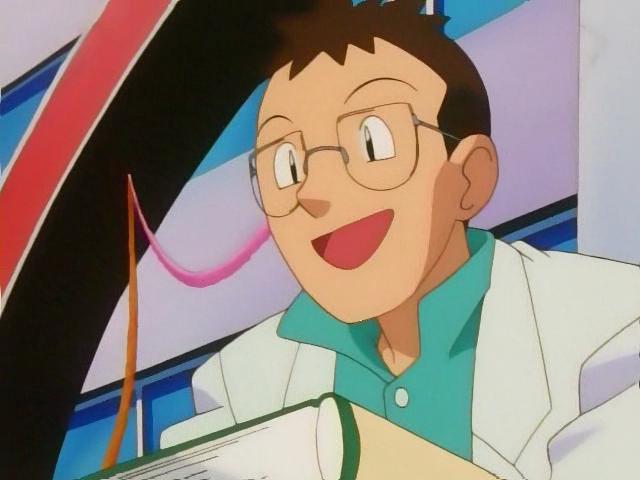 Professor Elm Pokemon Games Anime Characters Database
